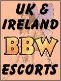 BBW Escorts, UK and Ireland